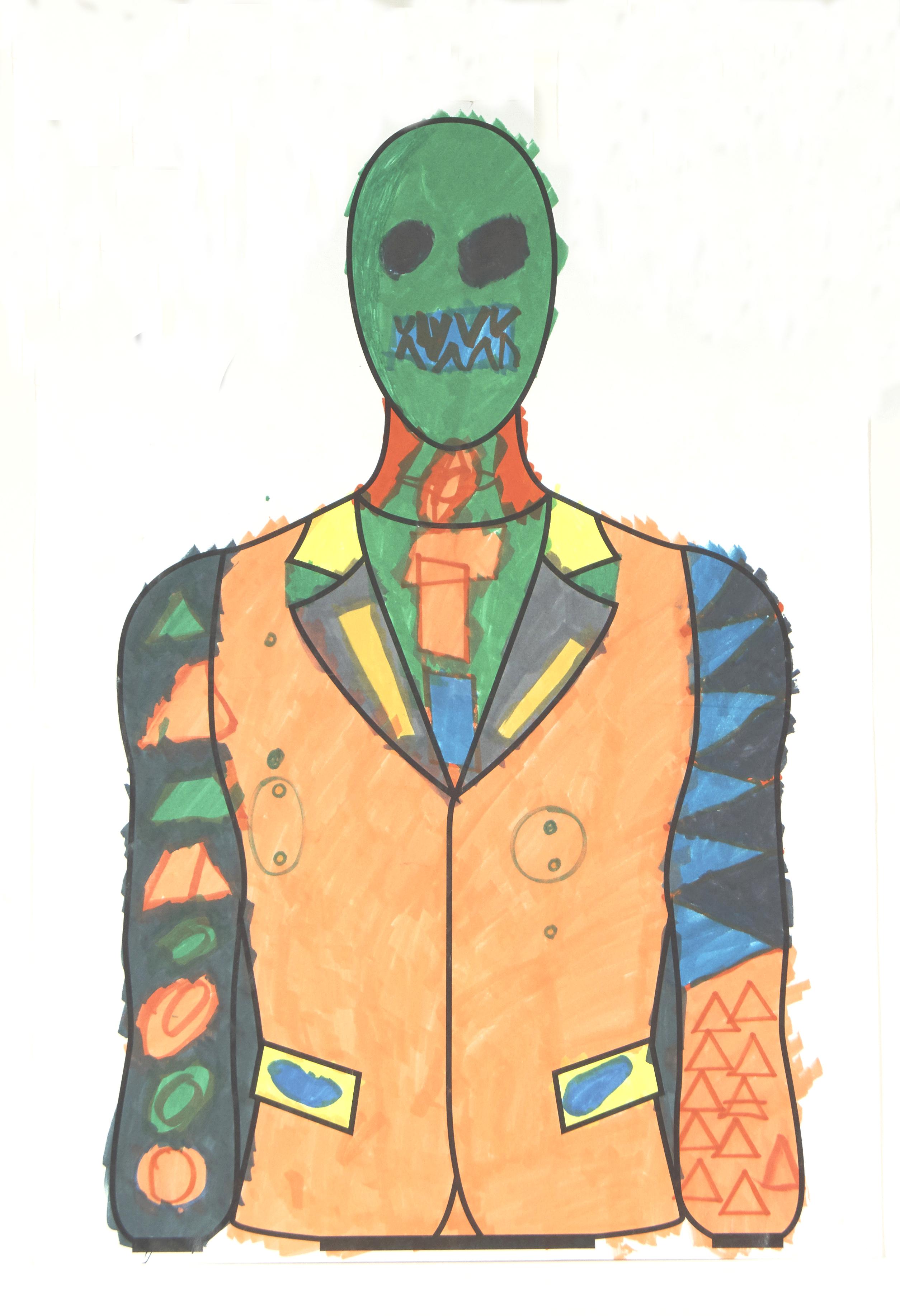 African Textiles Student Art