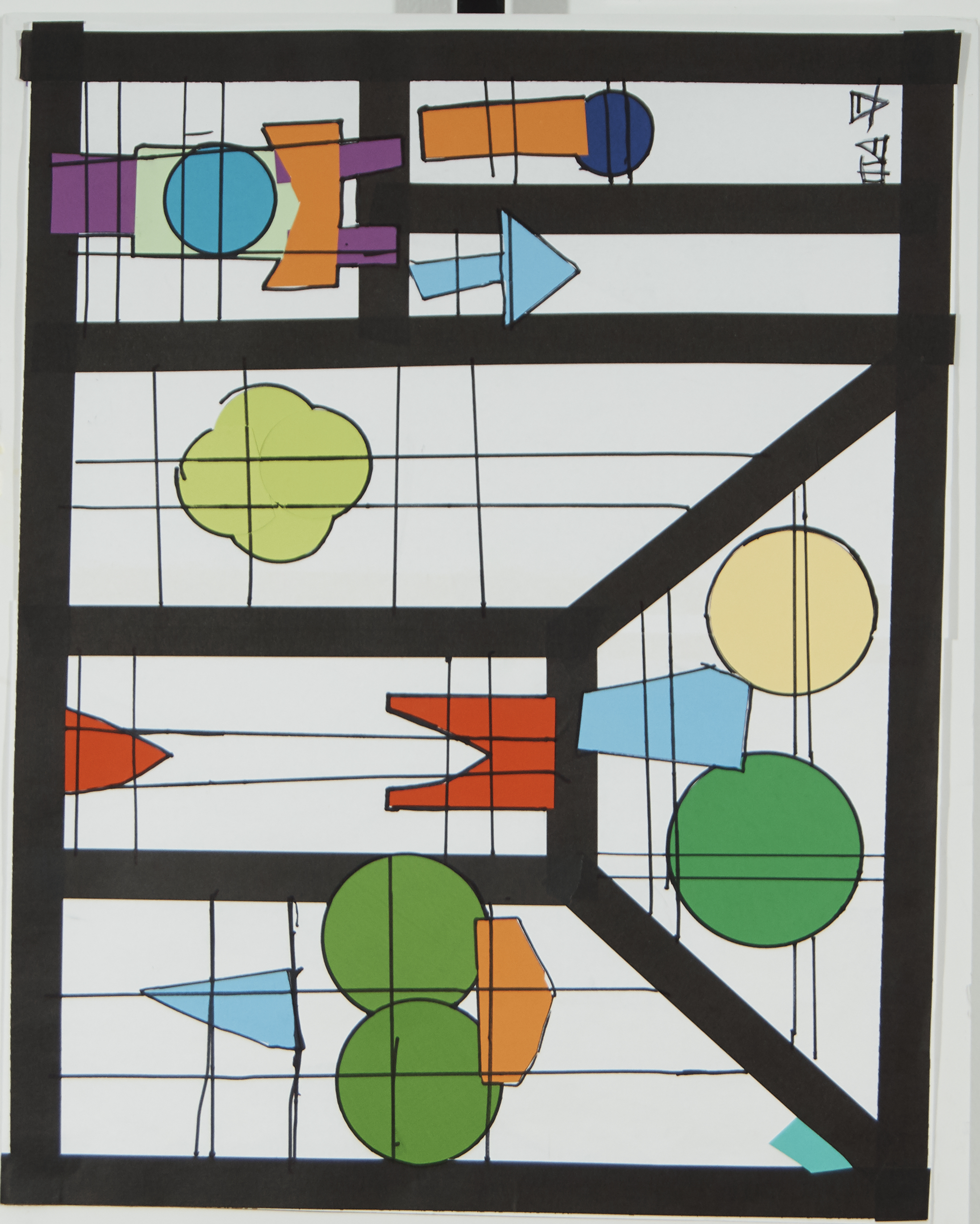 Stained Glass Student Art
